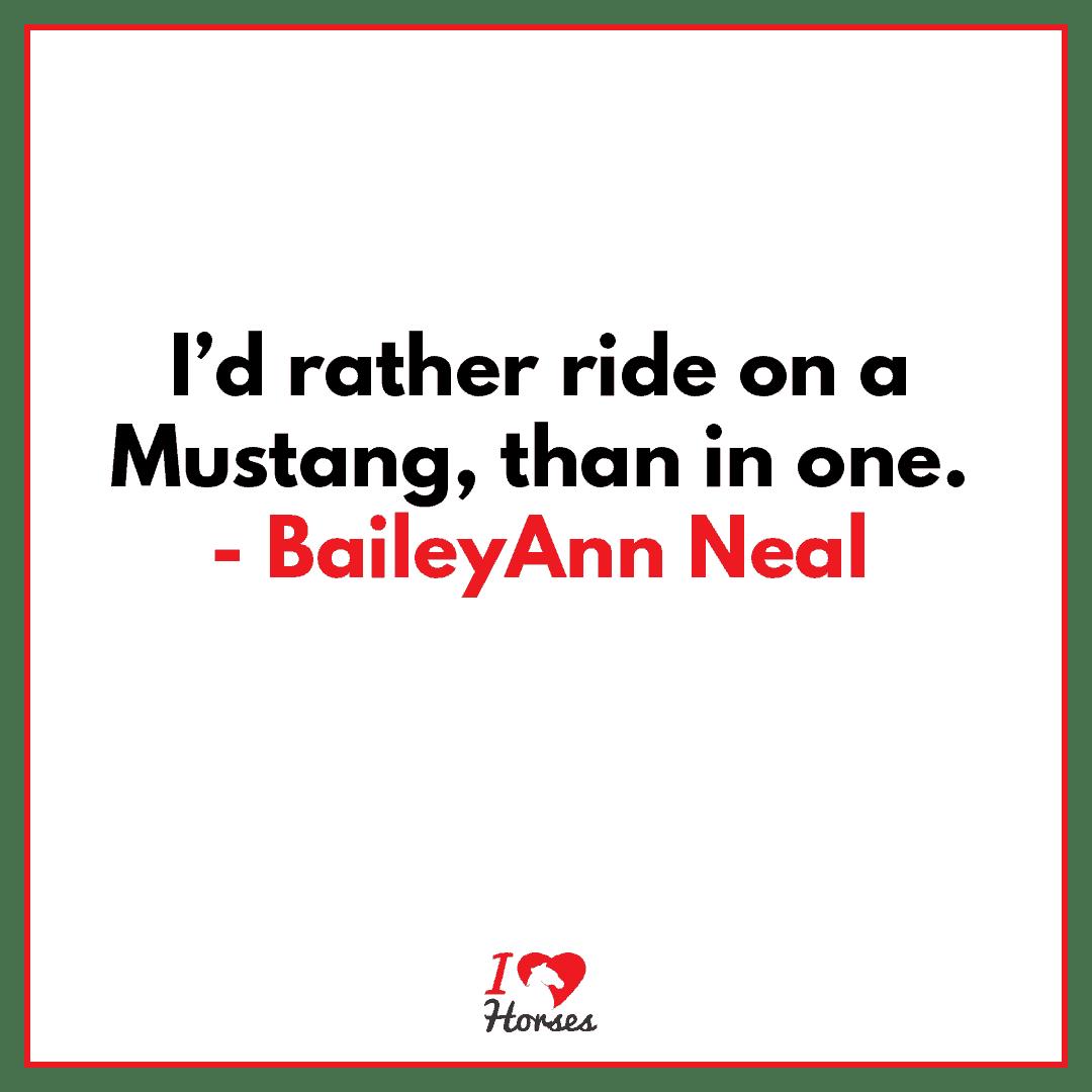 horse quote baileyann neal