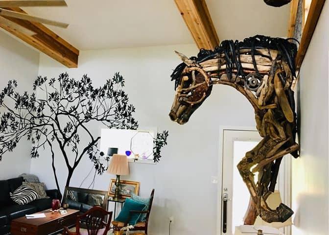 horse sculptures Monte Michener 3