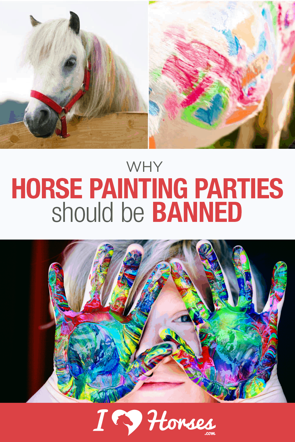 horse painting, pony painting parties