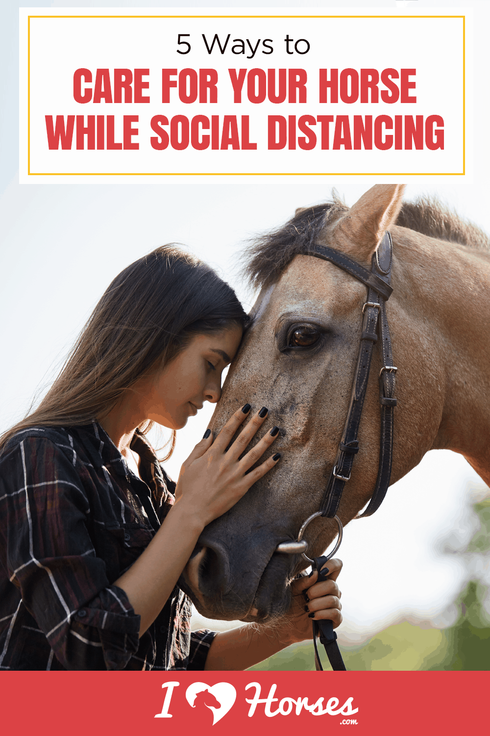 care for horse while social distancing