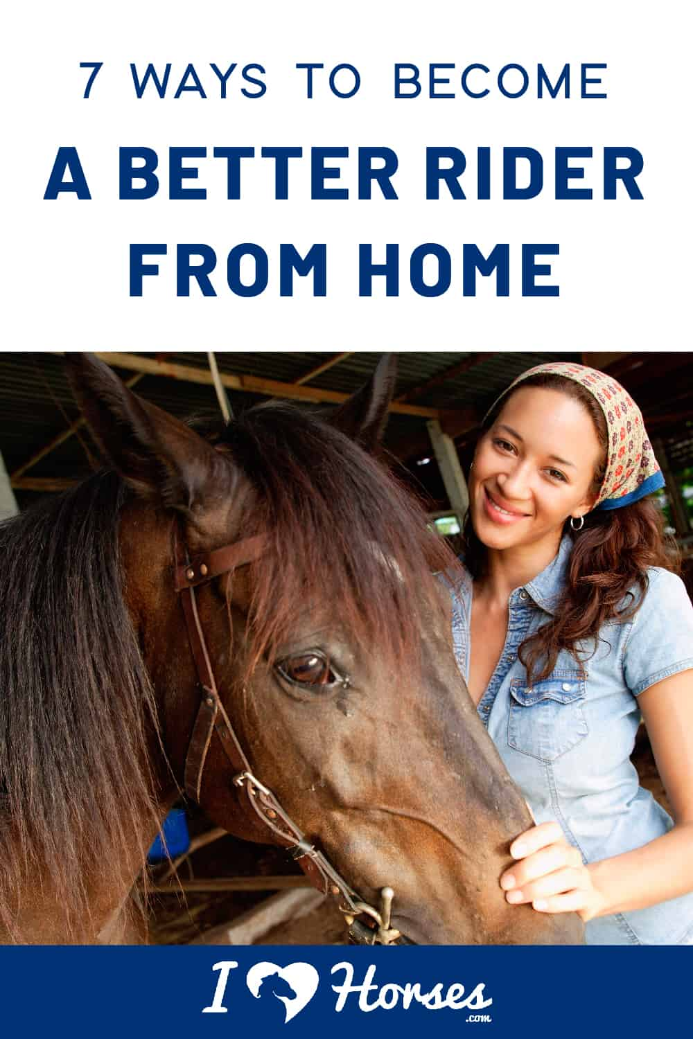 become a better horseback rider while not in the saddle