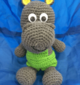 Harry the Hippo- The 2 by 2 Alphabet Zoo