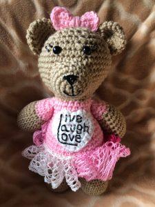 Kreative Kreations - Live Laugh Love Bear