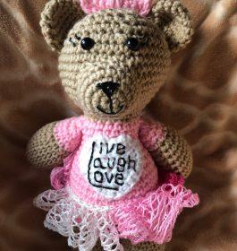 Live Laugh Love Bear