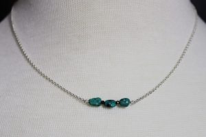 Indigo Lane Jewelry - Turquoise and Pyrite Necklace