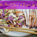Spicy Thai Peanut Slaw & Ginger Soy Chicken