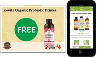 KeVita Organic Probiotic Drink Coupon Deal