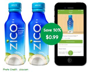 Zico Coconut Water Coupon Deal