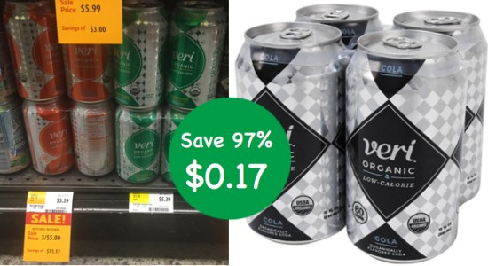 Veri Organic Soda Coupon Deal
