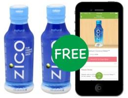 Free Zico Coconut Water