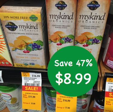 mykind Organics Vegan D3 vitamin