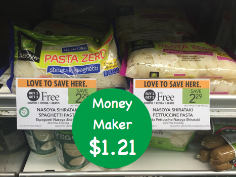 Nasoya Shirataki Pasta Coupon Deal