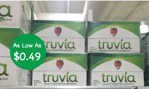 Truvia Natural Sweetener Coupon Deal
