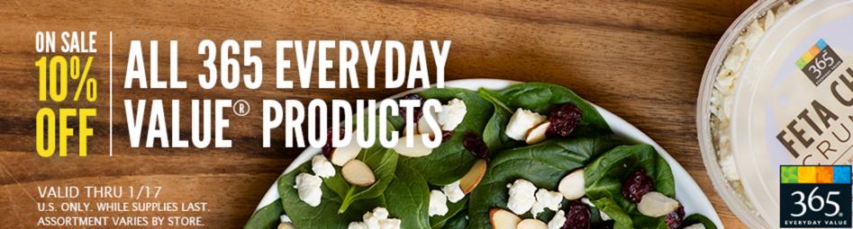 Whole Foods 365 Sale