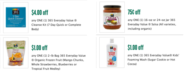 Whole Foods 365 Coupon