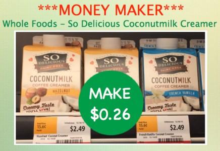 Whole Foods So Delicious Coconutmilk Coffee Creamer Coupon Deal