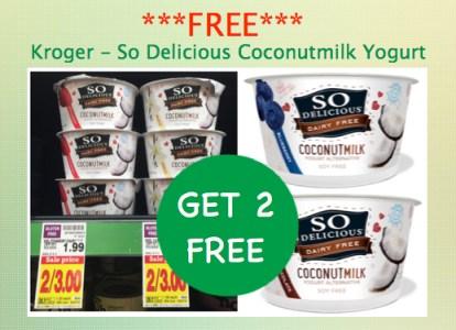 So Delicious Coconutmilk Yogurt Coupon Deal