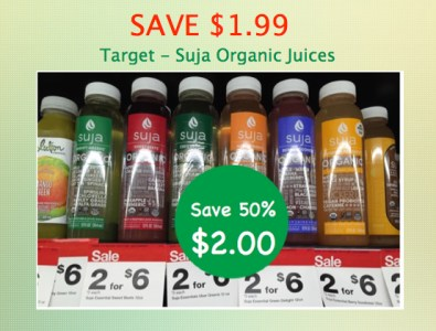 Suja Organic Juices Coupon Deal