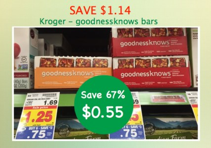 goodnessknows bars coupon deal