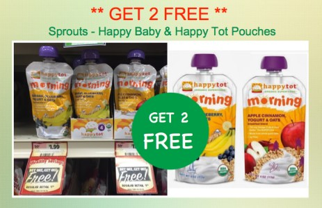 Happy Baby or Happy Tot Pouches Coupon Deal