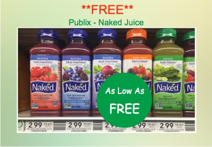 Naked Juice Smoothie Coupon Deal