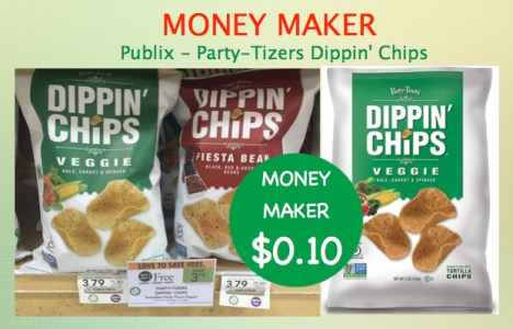 Party-Tizers Dippin' Chips Coupon Deal