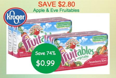 Apple and Eve Fruitables Juice Coupon Deal