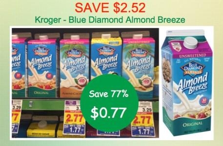Blue Diamond Almond Breeze Coupon Deal