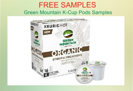 Green Mountain K-Cup Pods Samples coupon deal
