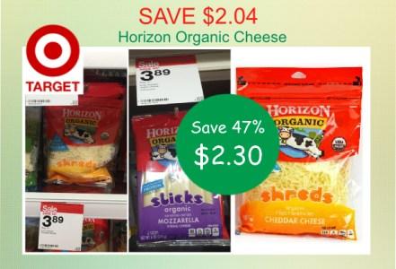 Horizon Organic Cheese coupon deal