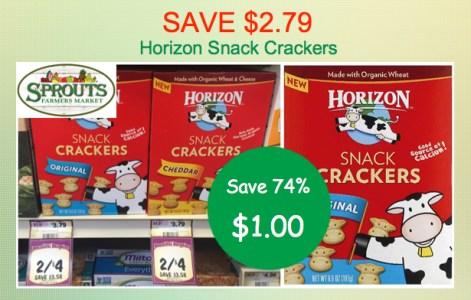 Horizon Snack Crackers Coupon Deal