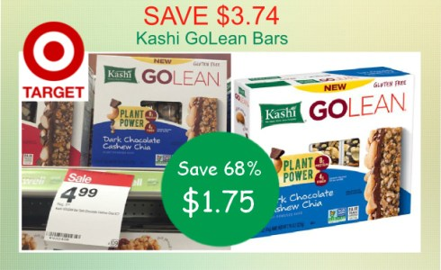 Kashi GoLean Bars coupon deal