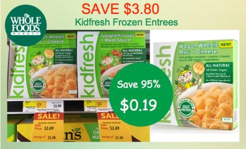 Kidfresh Frozen Meals Coupon Deal