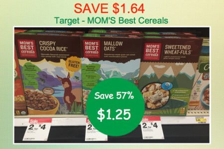 Mom's Best Cereal Coupon Deal