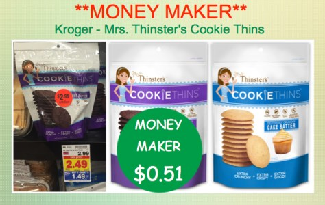 Mrs Thinsters Cookie Thins Coupon Deal