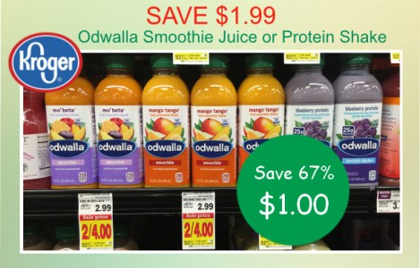 Odwalla Smoothie Juice or Protein Shake coupon deal