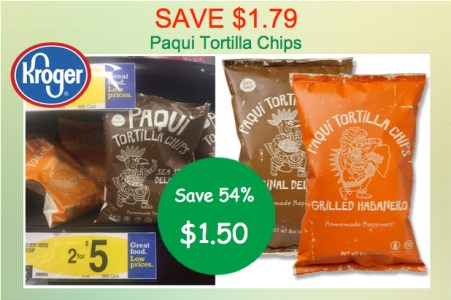 Paqui Tortilla Chips Coupon Deal