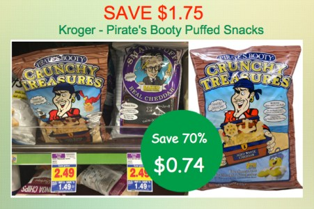 Pirates Booty Puffs Coupon Deal