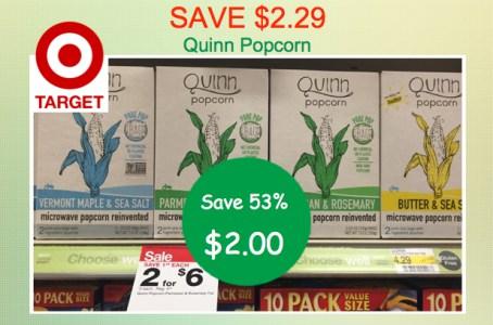 Quinn Popcorn Coupon Deal