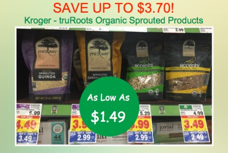 truRoots Organic Sprouted Products Coupon Deal