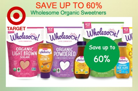 Wholesome Organic Sweetener Coupon Deal