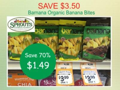 barnana organic banana bites coupon deal