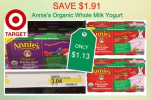 Annie's Yogurt Coupon Deal