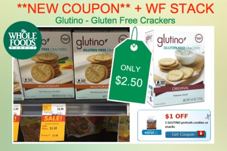 Glutino Snacks Coupon Deal