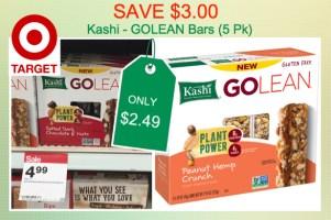 Kashi GoLean Bars Coupon Deal