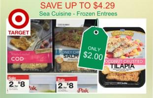 Sea Cuisine Frozen Entrees coupon deal