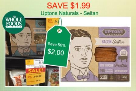Upton's Naturals Seitan Coupon Deal