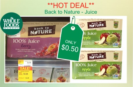 Back to Nature Juice coupon deal 2