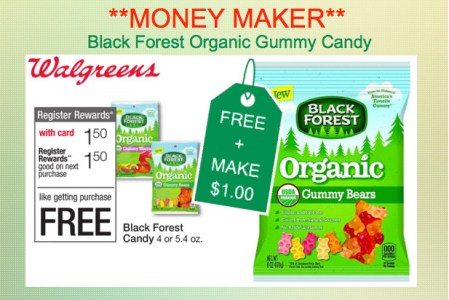 Black Forest Organic Gummy Candy Coupon Deal
