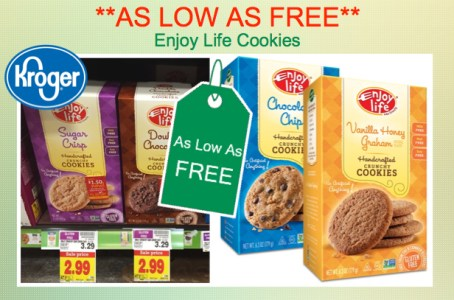 Enjoy Life Cookies Coupon Deal